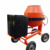 Gasoline/Electric Motor/Diesel Mini Concrete Drum Mixer with truck trailer
