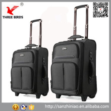 Alibaba China 3 pcs cheap wheeled luggage trolley old fashion suitcase