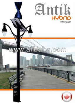Antik Wind & Solar street light