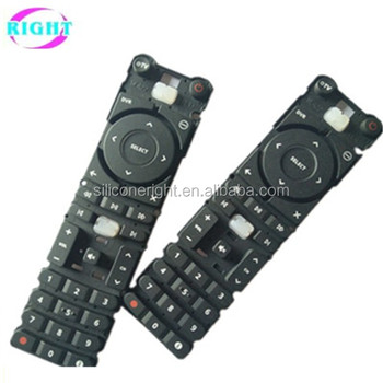 Remote controller silicon keypad tv remote control