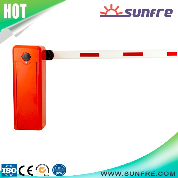 Remote control time attendance system boom parking barrier gate