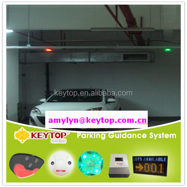 basement car parking guidance system/smart parking system with zone controller and floor led display