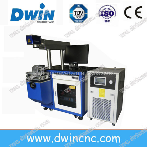 DW50D YAG lamp-pumped 50w laser marking machine for jewelry