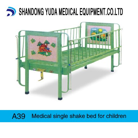 Medical single shake bed for children
