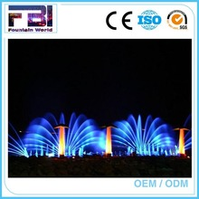 Programmable control dancing commercial water fountain