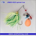 Artificial Baits handmade lure Wholesale Price jig hook with silicone skirt fishing lure