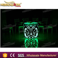 party and events furniture led light bar table and chairs