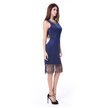 japanese sexy free fringe prom dress