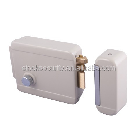High <strong>Security</strong> 12V Single Cylinder electronic rim door lock with zinc alloy knob