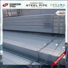 seamless pipe hot dipped galvanized square and rectangular tube gi pipe metal tube