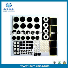 Sound insulation moisture-proof adhesive foam gasket for furniture