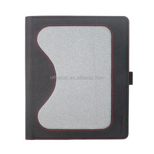 hot selling newest filp anti shock leather case for ipad air/air2