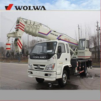 Made in China 12 ton truck crane GNQY-C20 with lifting height 32m