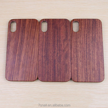 mobile phone accessories,real solid wooden phone case for Iphone X,Plastic Hard Pc Material raw material