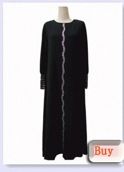 Beaded Chiffon Robe Islamic Clothing Latest Abaya Designa 2015 Dubai Abaya Wholesale