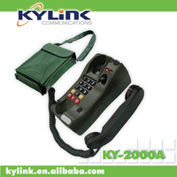 Tactical and field phone for military. CB/LB field phone for military. Field phone for harsh and extremely environment.