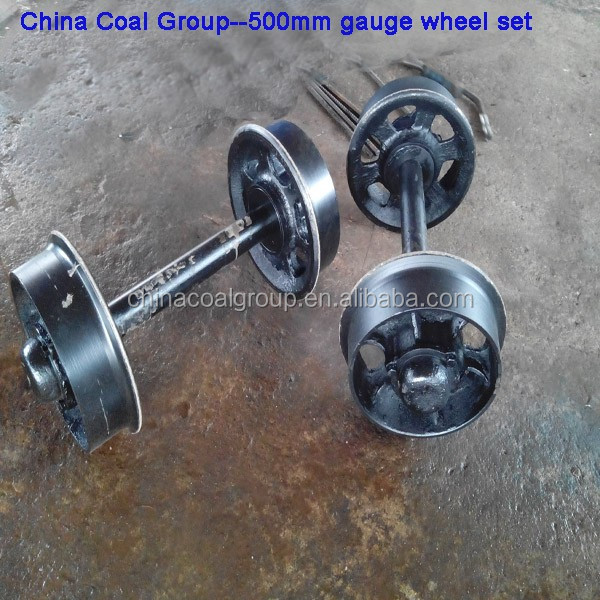 Cast Iron and Cast Steel Rails Wagon Wheels Sets Steel Rail Wheel