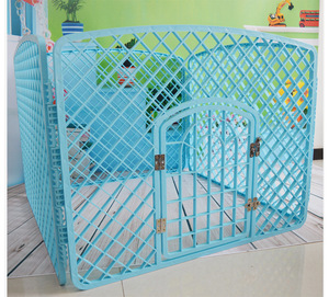 Large Factory Direct Folding Dog Cage Pink