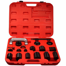 Auto Repair Fitter Tool 21Pcs Vehicles Universal Remover Ball Joint Service Tool Kit With Master Adapter Set