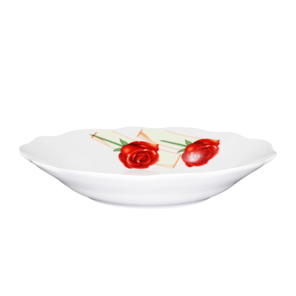 Bulk White Cheap Porcelain Soup Plates