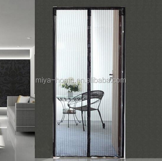 High quality Magnetic Mosquito Net Door Curtain / Magnetic Door Mesh / Magnetic Insect Screen