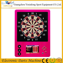 2017 wall mounting electronic dart board machine with led light