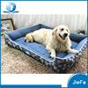 Jacquard Fabric Denim Pet Bed Detachable And Washable Dog Bed