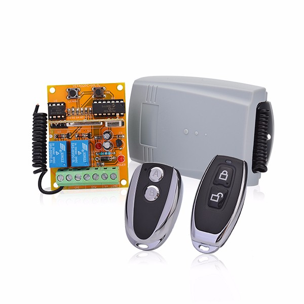 high security rolling code wireless remote control and receiver DC 12V 24V remote controller