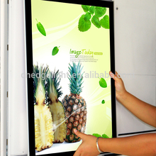 CE UL ROHS high quality magnetic shadow led light box advertising display light box