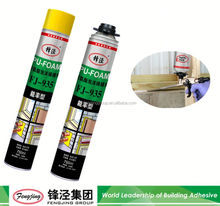 Building fire resistant OEM quality polyurethane foam sealant reactor with fast delivery