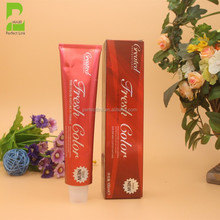Perfect Link 49 Colors Available Ammonia Free Permanent Hair Color Cream (100ml) OEM / ODM