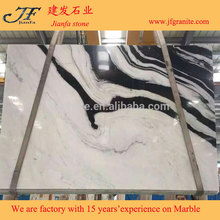 Grade A quality vietnamese white marble Black Marble Texture with great price