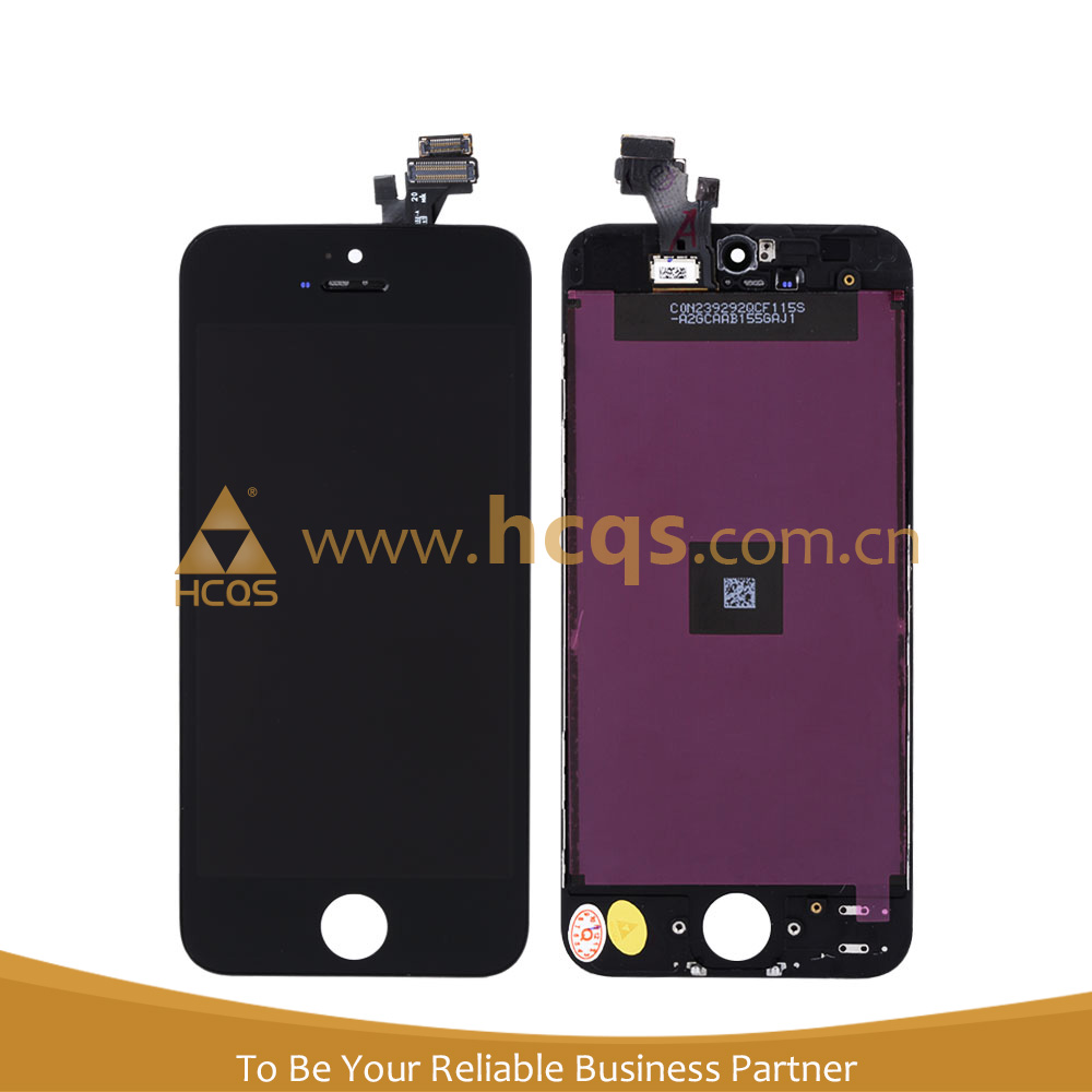 Mobile phone touch screen for iphone 5 lcd digitizer,festival discount for iphone 5 display assembly,for iphone 5 back cover