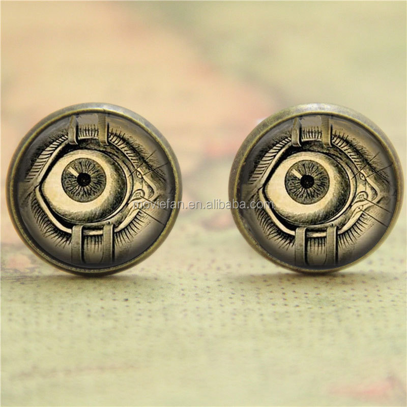Steampunk Earring Human Anatomy Eyeball Evil Eye Science Medical Art ...