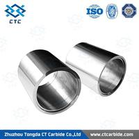 For oil mining field carbide bushings and sleeves customized axle sleeve/shaft sleeve
