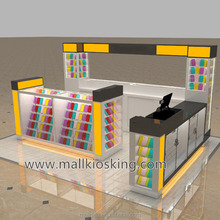 Hot sale Shopping mall cell phone accessories kiosks for mobile phone store design