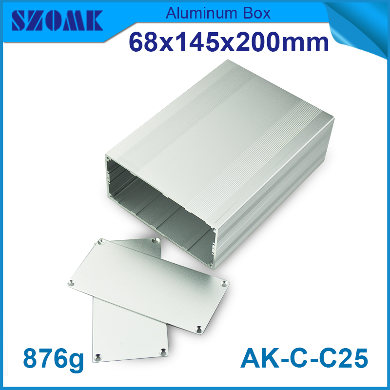 szomk box aluminium enclosure for power supply
