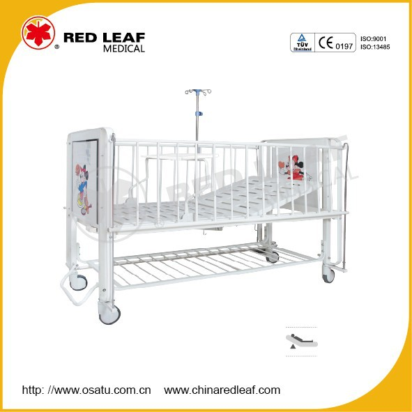 OST-H101FC Cartoon Medical Children Bed