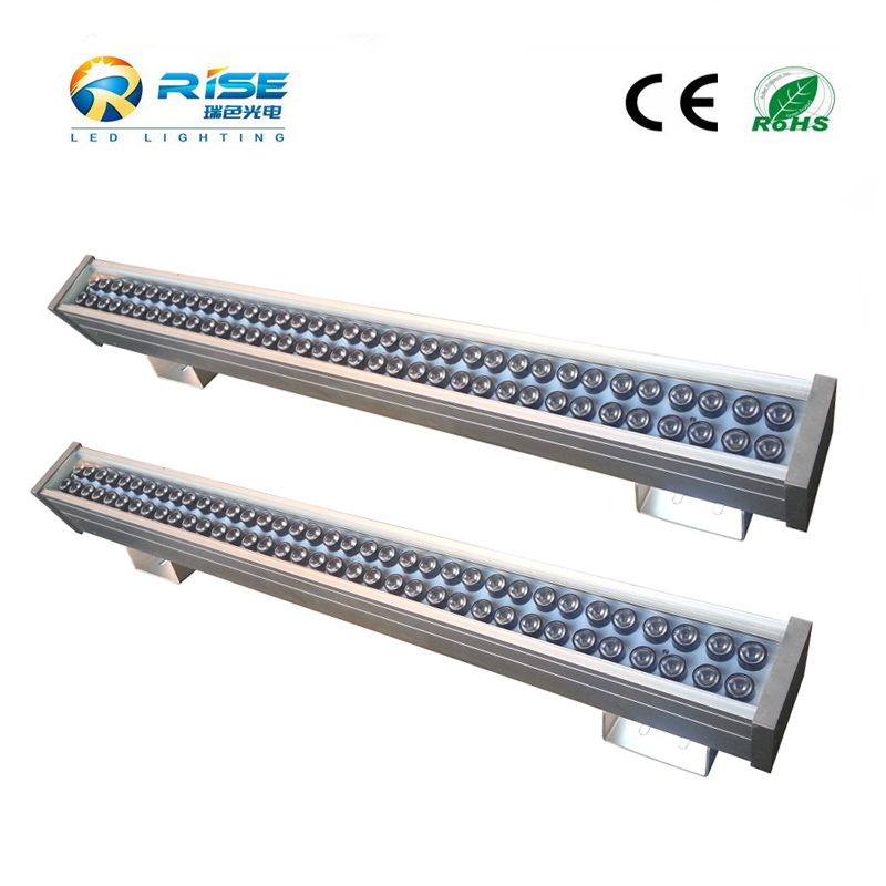 IP65 waterproof outdoor builing led light rgbw 4in1 dimmable led wall washer light