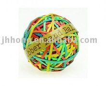colorful rubber band ball