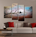Handmade Home Decor Wall Modern Abstract Landscape Canvas Art Painting