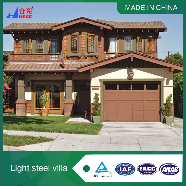 Hot sale Light steel villa,Wholesale light steel frame,Wall Sandwich Panel light steel frame house