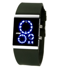 Wholesale Skmei#0984 Branded Led Watches Cool Waterproof Watches For Teenagers