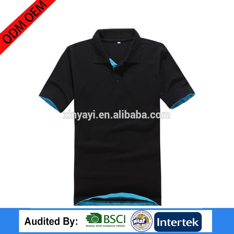 New china plus size clothing ODM OEM avaliable service factory polo t-shirt cotton 100 % fabric