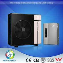 CE RoHS SGS Approved DC Inverter air to water domestic heat pump variable frequency heating effectively