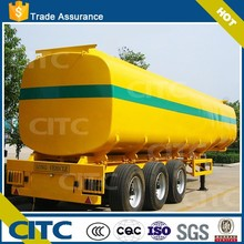 Best selling fuel tank semi trailer tank truck for sale with oil tank truck specifications