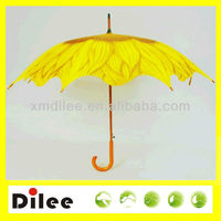 yellow umbrella wholesale sunflower design