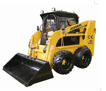 JC 65 bobcat loader,china bobcat,engine power 60hp,loading capacity 850kg