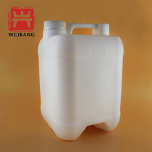 4 Liter HDPE Rectangle Plastic Bottle w/ Tamper Evident Lid /HDPE Plastic Container