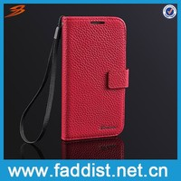 Smartphone case for samsung galaxy s4 made in China leather case